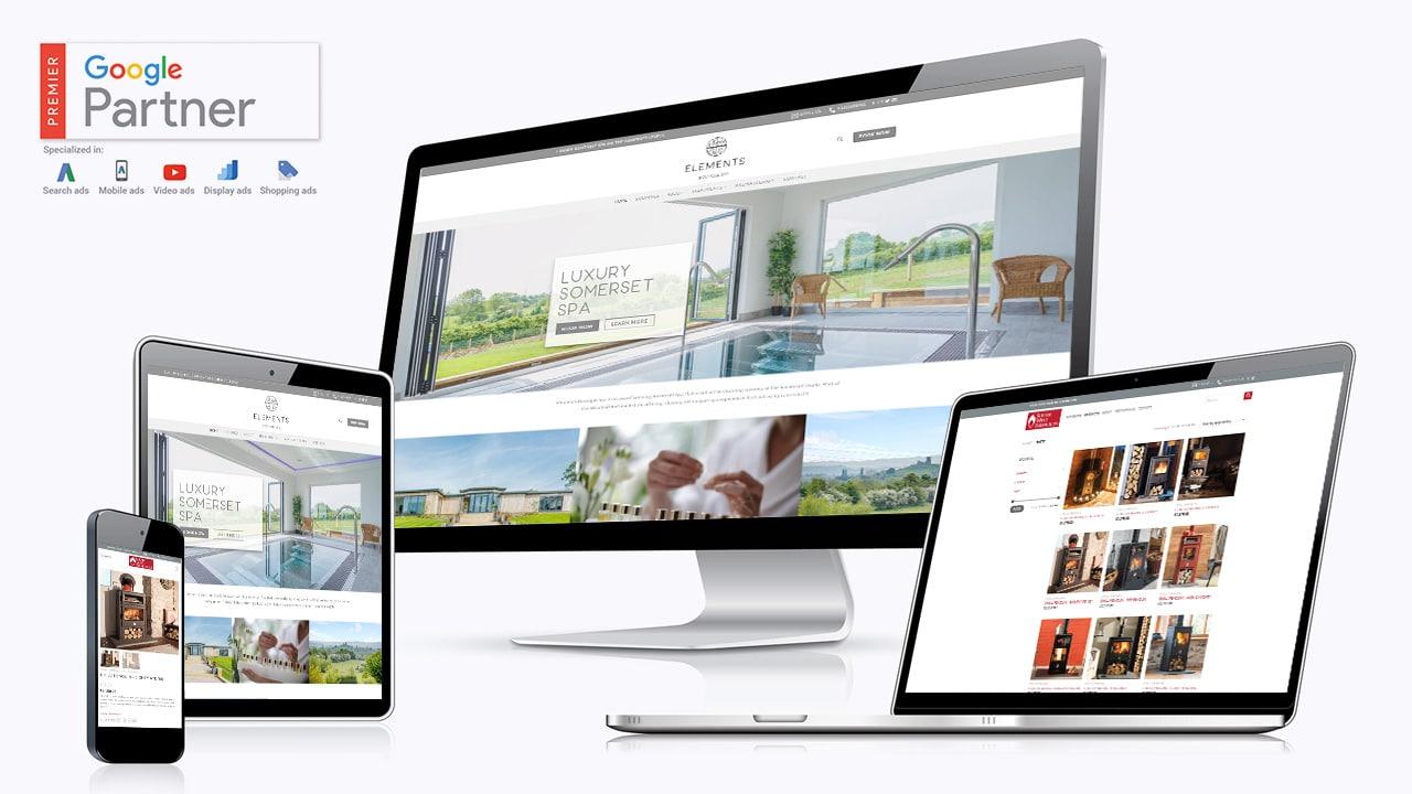 Design By Creative Website Design Elements Boutique Spa Bridgwater Somerset