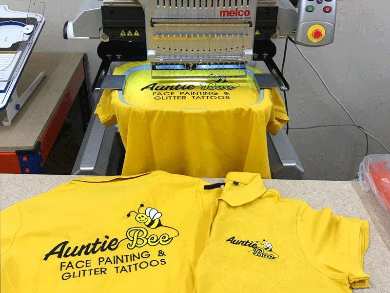 Design By Creative Bridgwater Somerset Embroidery