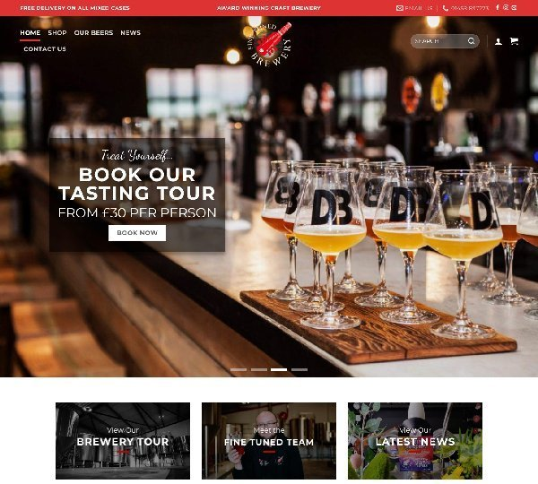 Fine Tuned Brewery Design By Creative