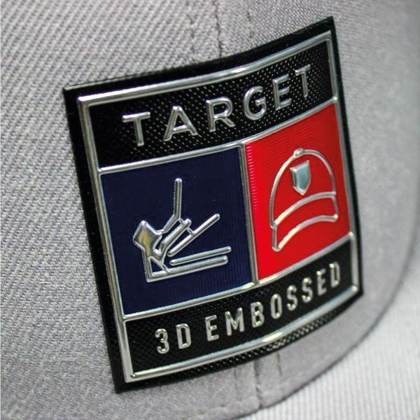 Hat Cap Custom 3D Embossed Badges Patches